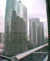 品川駅ビルから見た近くのビル群