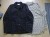 TMTのジャケットとパタゴニアのシャツ