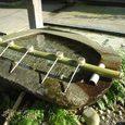 荘内神社のお水