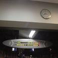 JR宮崎空港駅の行き先案内板