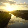 延岡市内を流れる五ヶ瀬川1