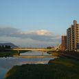 延岡市内を流れる五ヶ瀬川2