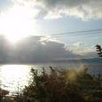 朝の琵琶湖2