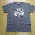 Blues ExplosionのTシャツグレーの表