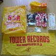 RISING SUN ROCK FESのTOWER RECORDのグッズ類